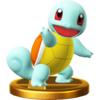 SSB4 Trophy Squirtle