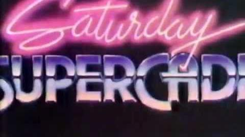 1984 CBS Saturday Supercade Cartoon Intro