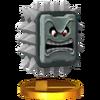 SSB4 Trophy Thwomp