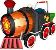 SSBB Sticker Barrel Train