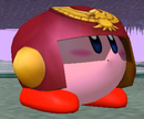 SSBM Kirby hat CaptainFalcon