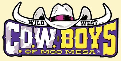 A wild west COWboys of moo mesa