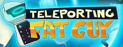 A teleporting fat guy logo