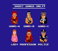 Hogan's Alley characters