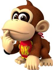 Mario Baseball Baby DK