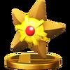 SSB4 Trophy Staryu