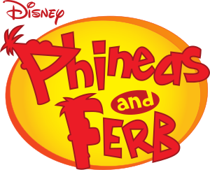 A phineas and ferb logo