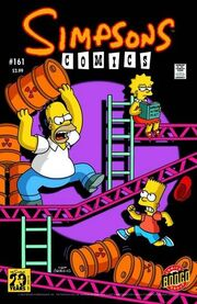 Simpsons comic 161 cover