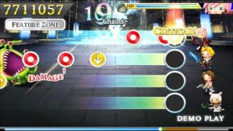 Theatrhythm Final Fantasy Curtain Call Demo - All songs on ULTIMATE 3DS