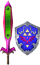 SC2 weapon Link GreatFairySword