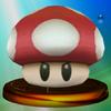 SSBM Trophy 106 Poison Mushroom