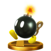 SSB4 Trophy BobOmb