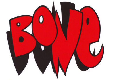 Bone cartoon comics logo