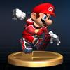 SSBB Trophy 146 Striker Mario