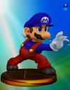 SSBM Trophy 003 Mario Smash2