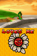 Mario Yoshi Loves me