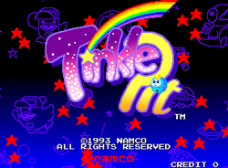 Tinkle Pit screen