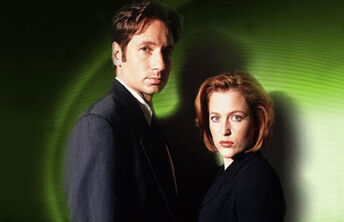 A Scully and Mulder
