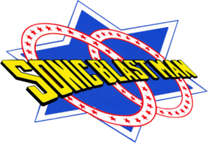 Sonic blast man logo