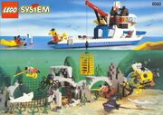 LegoDivers 6560 Diving Expedition Explorer