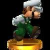 SSB4 Trophy LuigiAlt 3DS