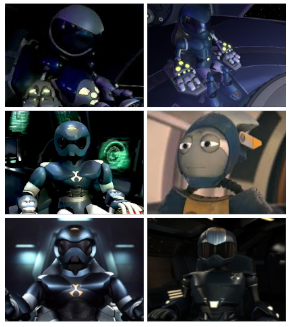 A group of Toonami toms