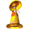 SSB4 Trophy PeachAlt 3DS