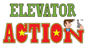 Elevator action logo