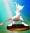 SSBM Trophy 054 Mewtwo Smash2