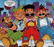 SonicTheComic Marxio Bros