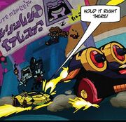 Transformers Timelines MovingViolations Huffer&Pipes