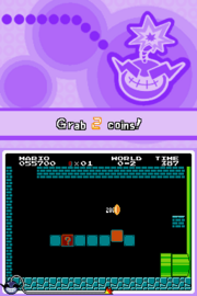 WWTo Microgame SMB Collect the Coins