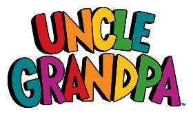 A uncle grandpa logo