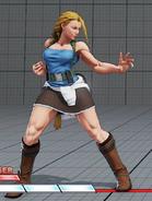 SFVAE cammy Jill costume alt