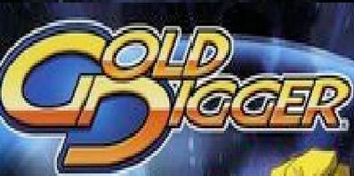 A Gold Digger comic logo