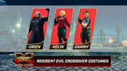 SFVAE Resident evil bundle