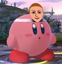 SSB4 Kirby hat Mii