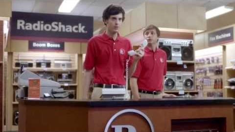 2014 RadioShack SuperBowl Commercial