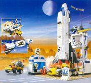 LegoSpacePort 6456 Mission Control
