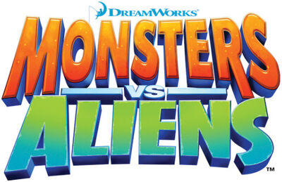 Aliens vs monsters logo