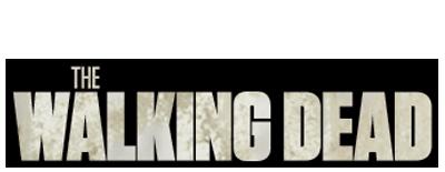 A walking dead logo