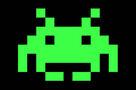 Space invaders alien