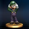 SSBB Trophy 059 Luigi