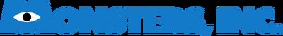 A monsters inc logo