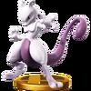 SSB4 Trophy Mewtwo Smash