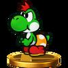 SSB4 Trophy MiniYoshi