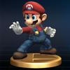 SSBB Trophy 001 Mario