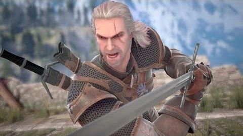 SOULCALIBUR VI - Geralt of Rivia Reveal Trailer PS4, X1, PC