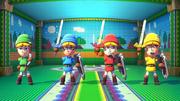 NintendoLand ZeldaBattleQuest Links