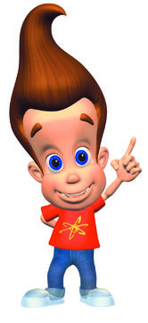 A jimmy neutron character